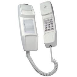 IQ 50, Slim Line Wall Mounting Telephone including Handsfree - Headset  telephones (CREAM)