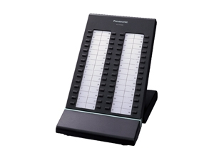 Panasonic Display Console, BLACK, Panasonic KX-T7640 DSS Console KX-TDA Digital Hybrid IP-PBX Systems 3-Line LCD display system phone