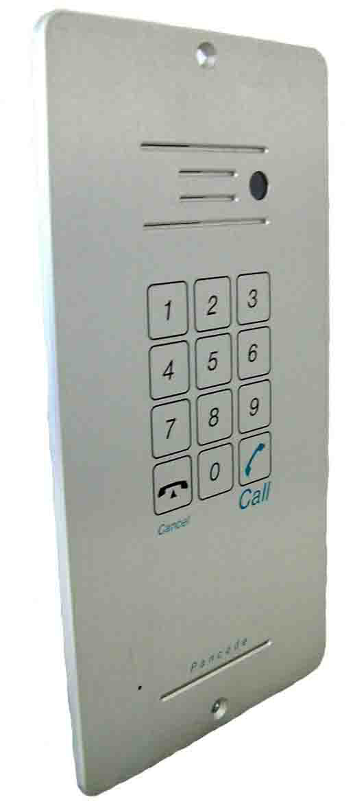 Outdoor Door Phone Flush Mounted With No Camera And Keypad