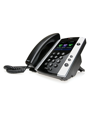 Polycom VVX 500 12-line Desktop Phone with HD Voice (Microsoft Skype for Business/Lync Edition)