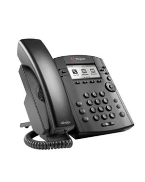 Polycom VVx 300 POE 6-line Desktop Phone with HD Voice (2200-46135-025)