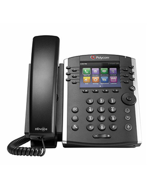 Polycom VVx 400 POE 12-line Desktop Phone with HD Voice (2200-46157-025)