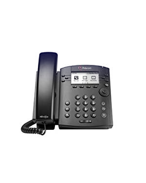 Polycom VVX 310 6-line Desktop Phone with HD Voice (Microsoft Skype for Business/Lync Edition)