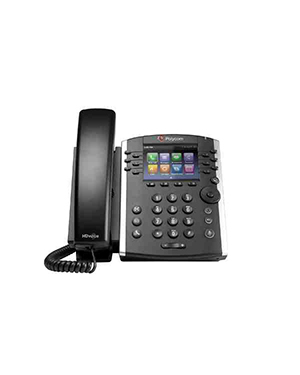 Polycom VVX 410 12-line Desktop Phone with HD Voice (Microsoft Skype for Business Edition)