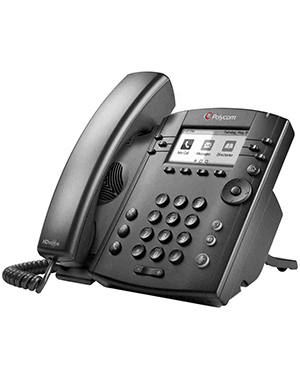 Polycom VVX 301 6-line Desktop Phone with HD Voice