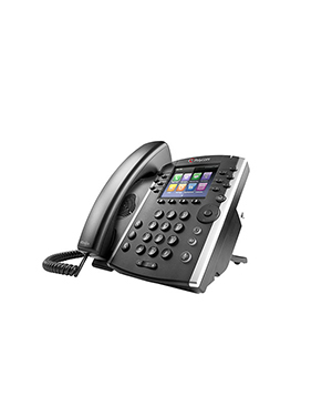 Polycom VVX 411 12-line Desktop Phone Gigabit Ethernet with HD Voice