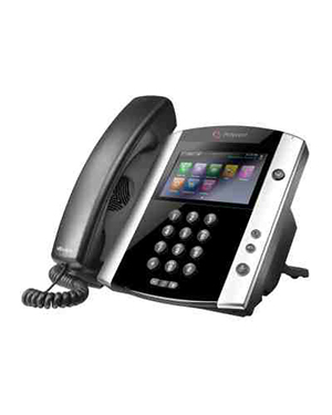 Polycom 601 16-line Business Media Phone with Built-in Bluetooth and HD Voice