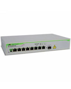 Allied Telesis AT-FS708/POE  Power over Ethernet PoE Fast Ethernet switch 10/100TX x 8 ports Unmanaged with 1 SFP