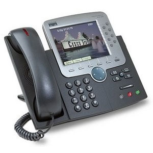 CISCO PHONE CP-7970G  IP PHONE Network products by Cisco Systems