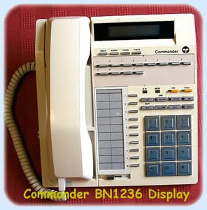 BN 1236 Commander Phone Handset Standard No Display (Secondhand)