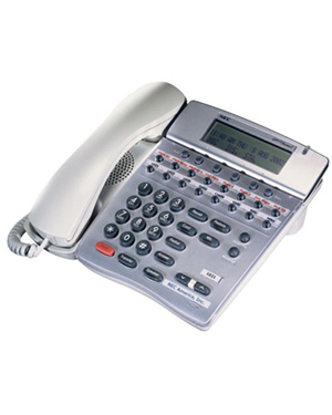 NEC DTR-16D White Telephone (Refurbished)