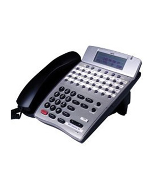 NEC DTR-32D 32-button White LCD Telephone (Refurbished)