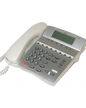 8 Button Essentials Handset WHITE NEC