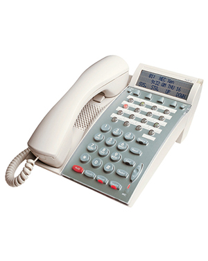 NEC DTP 16-button White PABX Telephone