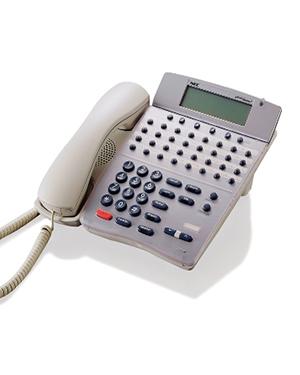 NEC DTR-32D White Display Telephone