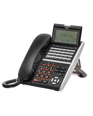 NEC DTZ 24-button Black Digital Telephone