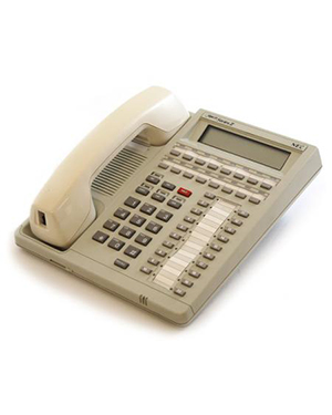 NEC ETE 16-button White Telephone