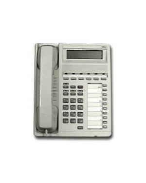 NEC ETE 6-button White Telephone
