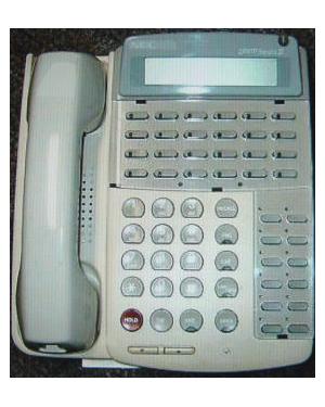 NEC ETJ 24-button White PABX Telephone