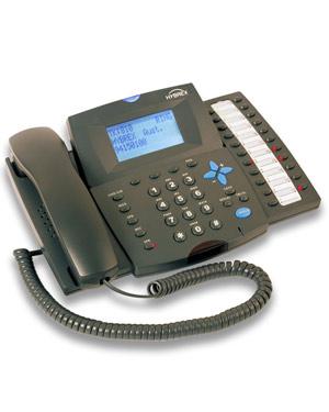 Hybrex DK2-21 Handset Telephone - BLACK Handset