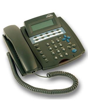 Hybrex, DK3-21 Telephone Handset in BLACK