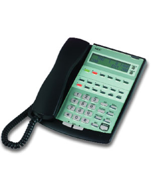 NEC Topaz Vision 6 Black Telephone