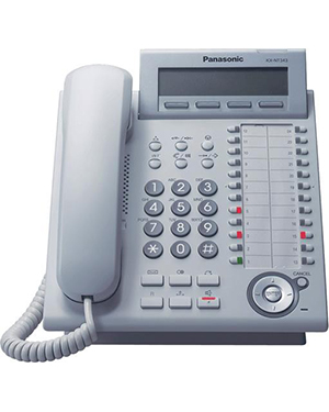 Panasonic KX-NT343 White IP Telephone