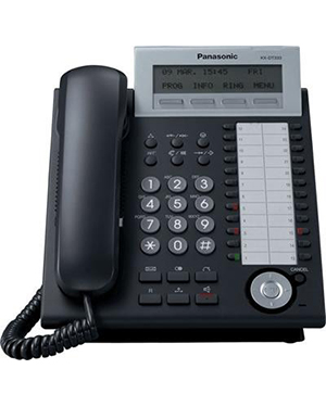 Panasonic KX-NT343 Black IP Telephone
