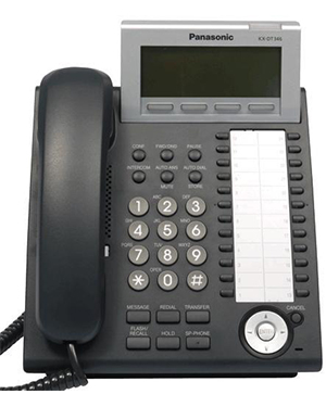 Panasonic KX-NT346 Black IP Telephone