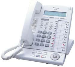 Panasonic KX-T7633 Refurbished Handset Phone Telephone (White)