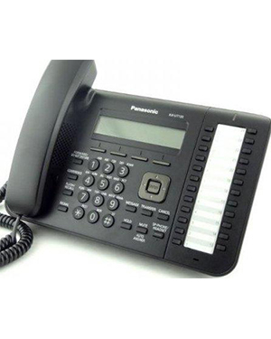 Panasonic KX-UT133 Black SIP Telephone