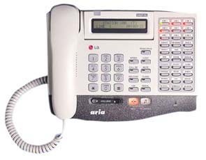 LG Aria 30-Button Display Keyphone Model LKD 30D Telephone (Refurbished Handset)