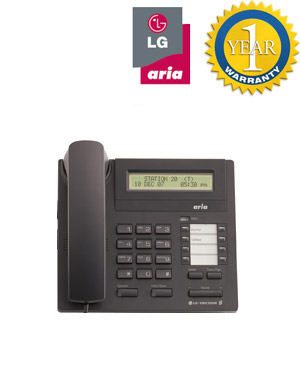 LG Aria Nortel 7008 Aria Digital Phone 8 Button Display (Refurbished Handset) Model LDP 7008