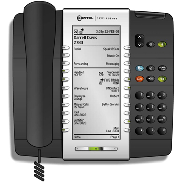 Mitel Networks 5340 IP Phone Handset is a full-feature enterprise-class telephone that provides voice communication over an IP network