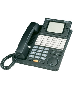 Panasonic KX-T7436 Refurbished Handset PhoneTelephone (Black)