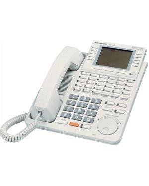 Panasonic KX-T7436 Refurbished Handset Phone Telephone (White)