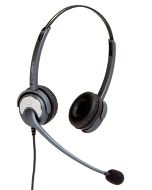 """Noise Cancelling ,Dual Ear Silvertongue Telephone Headset - Soundpro 20 for Call Centre, and business applications """"5 Year Warranty"""" These are NOISE CANCELLING Headsets for Call Centre Offices"""