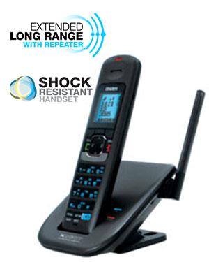 2 line 8 handsets long range cordless office phone systems small rh telephonesonline com au