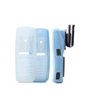 Clear Silicon Case with Belt Clip & Clip Assembly 8440
