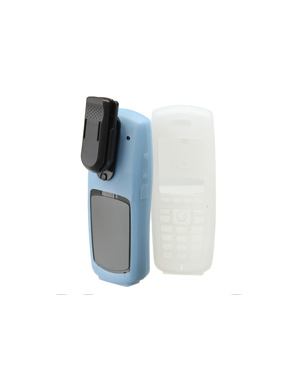 Clear Silicone Case with Belt Clip & Clip Assembly (For SpectraLink 8452/53 Handsets)