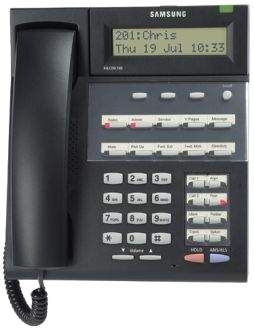 FALCON 18 BUTTON DIGITAL DISPLAY FALCON 18D, SAMSUNG Telephone Handset USED, Secondhand.
