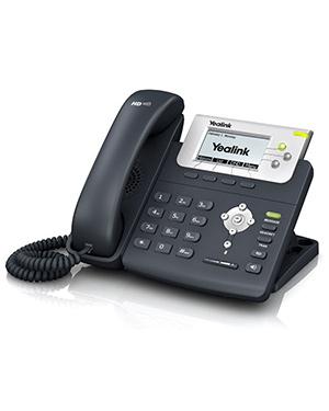 Yealink T23G IP Optima HD Phone (2.3-inch TFT, 2x SIP, & 10/100 PoE)