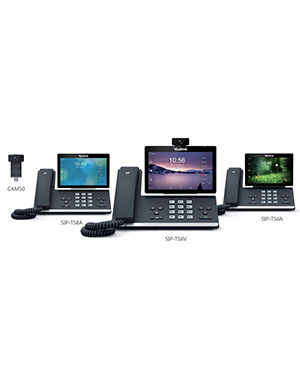 Yealink SIP-T58V 16-line IP HD Android Video Phone