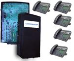 commander vision phonesystem 4 lines 5 handsets
