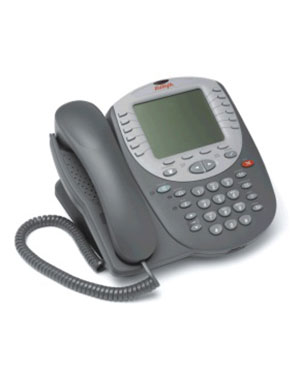 Avaya 5621 VOIP Display IP Telephone - 7 Line / 16 Character Large LCD Display