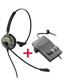 BTC M501 Corded Headset plus Plantronics M22 headset amplifier