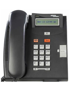 Commander Nortel Telephone T7100 (BK) NT8B25AAABL - Colour Black (Refurbished)