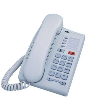 Commander Nortel Telephone T7000 Part NT8B24AAAA - Dolphin Grey (Refurbished)