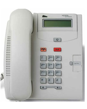 Commander Nortel Telephone T7100 (GRY) NT8B25AAAN - Dolphin Grey (Refurbished)