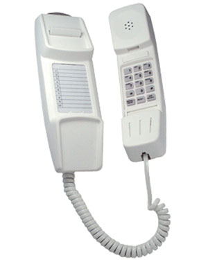 Interquartz Enterprise IQ50C Analogue Cream Slimline Phone for Hotel